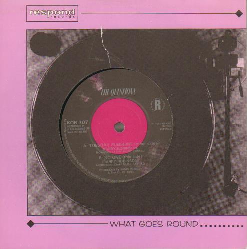 "The Questions Tuesday Sunshine 7"" vinyl single (7 inch record) UK QUS07TU648677"
