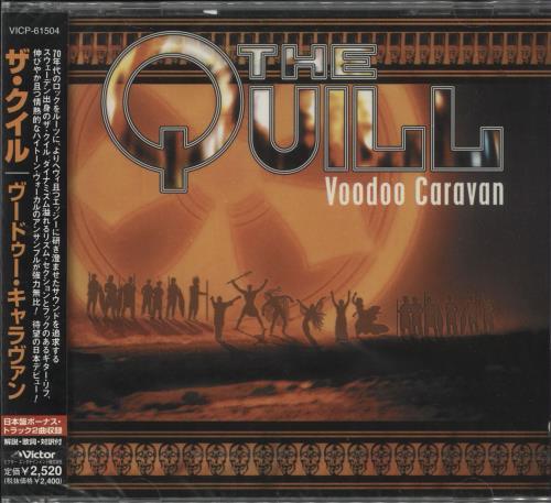 The Quill Voodoo Caravan - Sealed CD album (CDLP) Japanese 0I4CDVO729241
