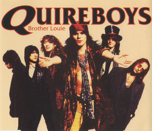 """The Quireboys Brother Louie CD single (CD5 / 5"""") Dutch QUIC5BR544754"""