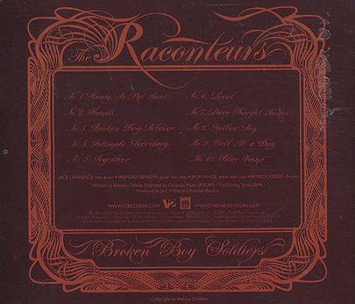 cd the raconteurs