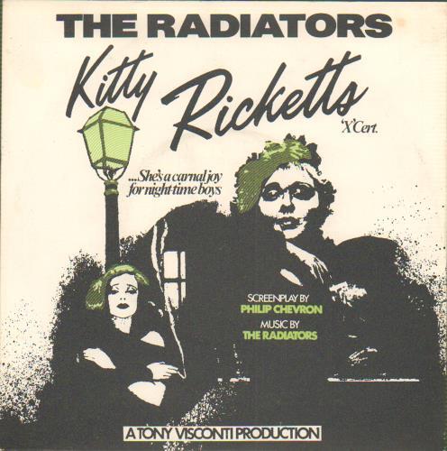 "The Radiators Kitty Ricketts 7"" vinyl single (7 inch record) UK UQG07KI654265"