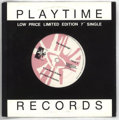 "The Rainkings Get Ready 7"" vinyl single (7 inch record) UK SZQ07GE730320"