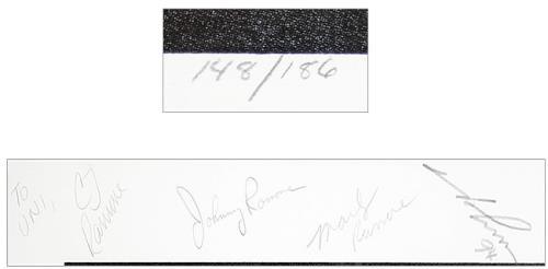 The Ramones Acid Eaters - Autographed memorabilia US RAMMMAC455292