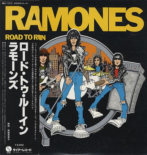The Ramones Road To Ruin vinyl LP album (LP record) Japanese RAMLPRO341445