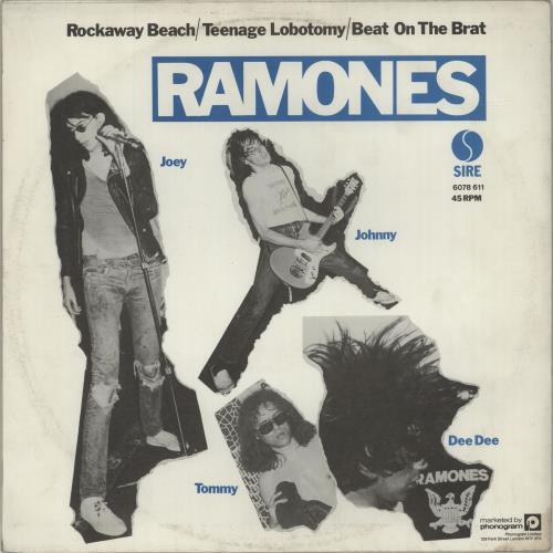 The Ramones Rockaway Beach Ex Belgian 12 Quot Vinyl Single