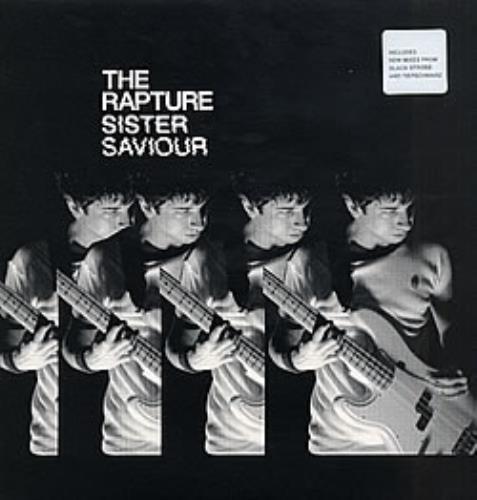 "The Rapture Sister Saviour 12"" vinyl single (12 inch record / Maxi-single) UK RPT12SI266894"