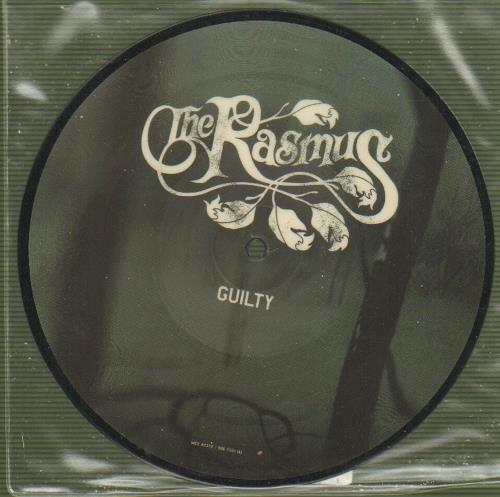 """The Rasmus Guilty 7"""" vinyl picture disc 7 inch picture disc single UK TEU7PGU296757"""