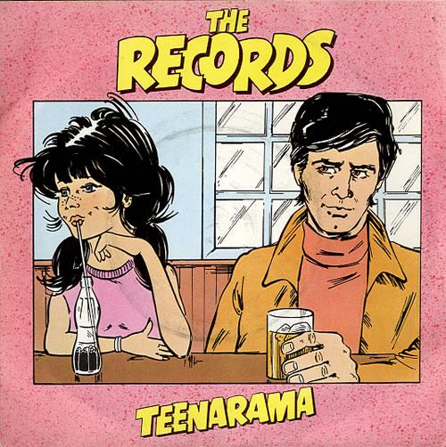 "The Records Teenarama 7"" vinyl single (7 inch record) UK 3RE07TE609881"