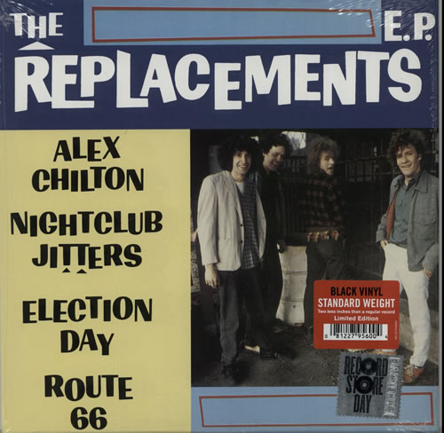 "The Replacements The Replacements EP - RSD 15 10"" vinyl single (10"" record) UK RPL10TH628249"