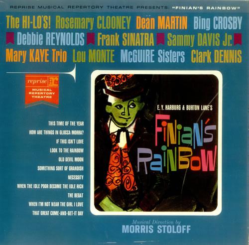 The Reprise Musical Repertory Theatre Finian's Rainbow vinyl LP album (LP record) UK RRHLPFI457147
