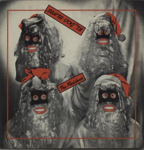 "The Residents Santa Dog '78 7"" vinyl single (7 inch record) US RSD07SA659616"
