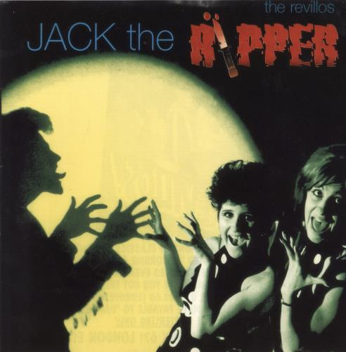 "The Revillos Jack The Ripper - Peach Vinyl 7"" vinyl single (7 inch record) UK RVL07JA768582"