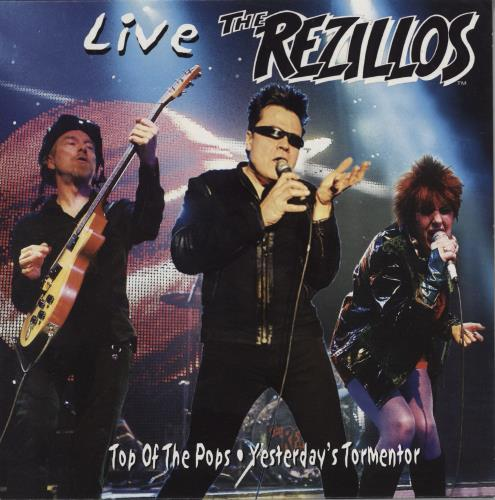 "The Rezillos Top Of The Pops: Live - Clear Vinyl 7"" vinyl single (7 inch record) UK REZ07TO768579"