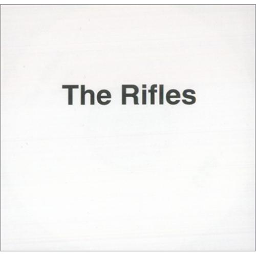 The Rifles Talking CD-R acetate UK IFLCRTA425373
