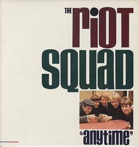 The Riot Squad Anytime vinyl LP album (LP record) UK SQDLPAN342365
