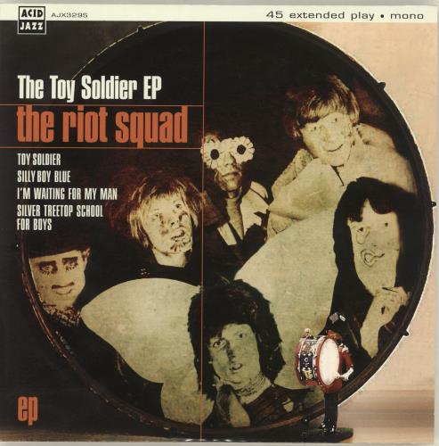 """The Riot Squad The Toy Soldier EP 7"""" vinyl single (7 inch record) UK SQD07TH689349"""