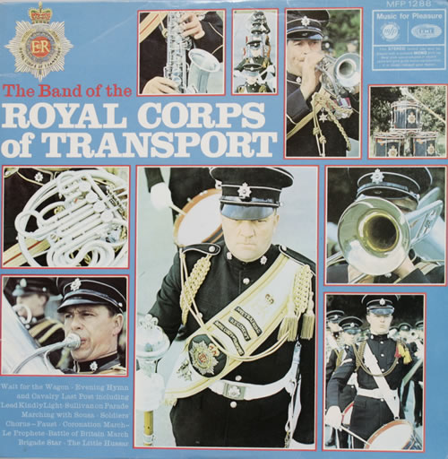 The Royal Corps Of Transport The Band Of The Royal Corps Of Transport vinyl LP album (LP record) UK U8HLPTH550271