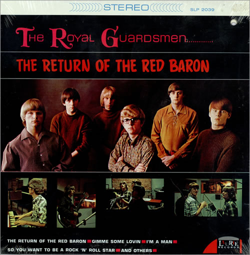 The Royal Guardsmen The Return Of The Red Baron - Sealed vinyl LP album (LP record) US T51LPTH467854