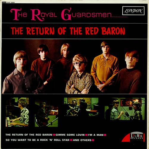 The Royal Guardsmen The Return Of The Red Baron vinyl LP album (LP record) UK T51LPTH459914