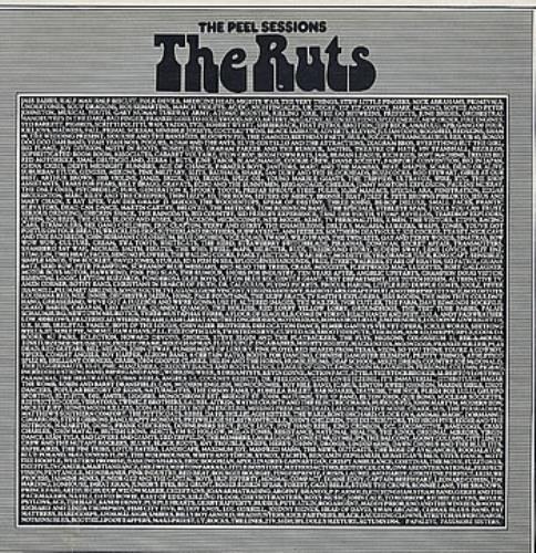 "The Ruts The Peel Sessions 12"" vinyl single (12 inch record / Maxi-single) UK RTS12TH102345"