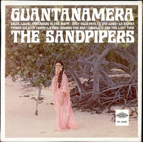 The Sandpipers Guantanamera Uk Vinyl Lp Album Lp Record