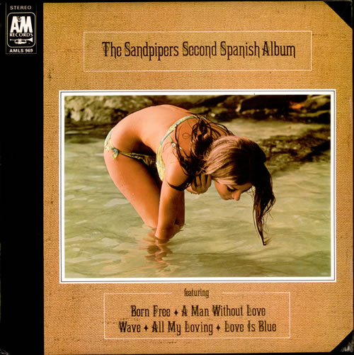 The Sandpipers Second Spanish Album vinyl LP album (LP record) UK SDPLPSE512212