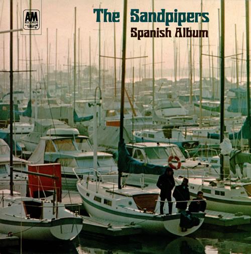 The Sandpipers Spanish Album vinyl LP album (LP record) UK SDPLPSP477285