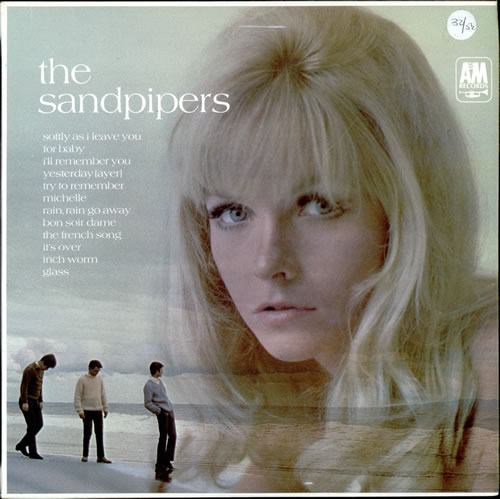 The Sandpipers The Sandpipers - Stereo vinyl LP album (LP record) UK SDPLPTH504196