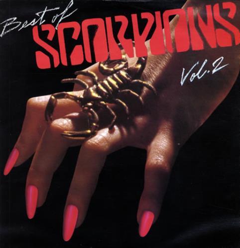 The Scorpions Best Of Scorpions Volumes 1&2 2-LP vinyl record set (Double Album) Venezuelan SCO2LBE367201
