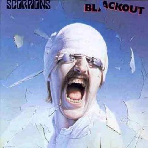 The Scorpions Blackout CD album (CDLP) UK SCOCDBL314458