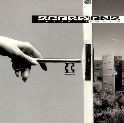 The Scorpions Crazy World vinyl LP album (LP record) Dutch SCOLPCR276268
