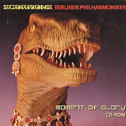 The Scorpions Moment Of Glory Promo CD Rom CD-ROM UK SCOROMO247611