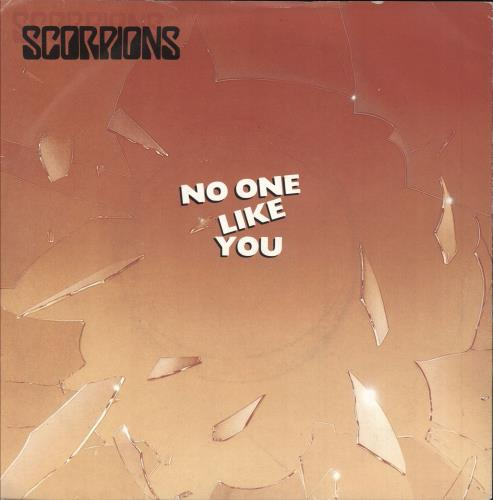 """The Scorpions No One Like You + P/S - NFS Stickered 7"""" vinyl single (7 inch record) UK SCO07NO749132"""