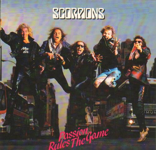 "The Scorpions Passion Rules The Game 7"" vinyl single (7 inch record) UK SCO07PA654315"