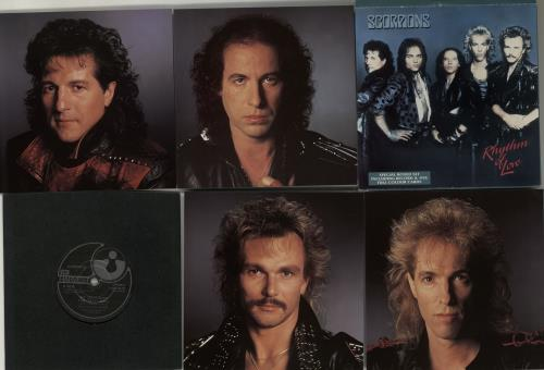 "The Scorpions Rhythm Of Life 7"" vinyl single (7 inch record) UK SCO07RH70734"