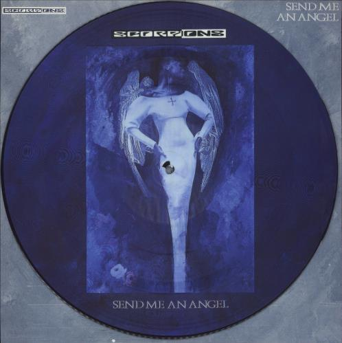 """The Scorpions Send Me An Angel 12"""" vinyl picture disc 12inch picture disc record UK SCO2PSE27559"""