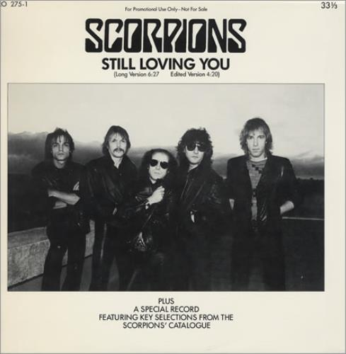 "The Scorpions Still Loving You 12"" + Sampler LP 2-LP vinyl record set (Double Album) US SCO2LST93109"