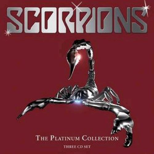 The Scorpions The Platinum Collection 3-CD album set (Triple CD) UK SCO3CTH347695