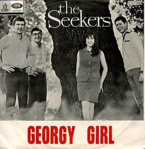 """The Seekers Georgy Girl 7"""" vinyl single (7 inch record) Colombian SEK07GE298301"""