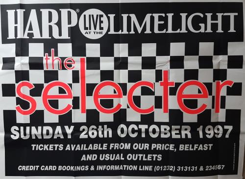 The Selecter Live At The Limelight poster UK SELPOLI690139