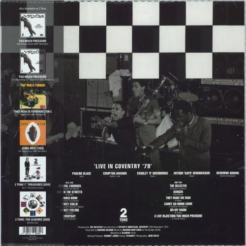 The Selecter Live In Coventry '79 - RSD 2021 - Sealed vinyl LP album (LP record) UK SELLPLI771913
