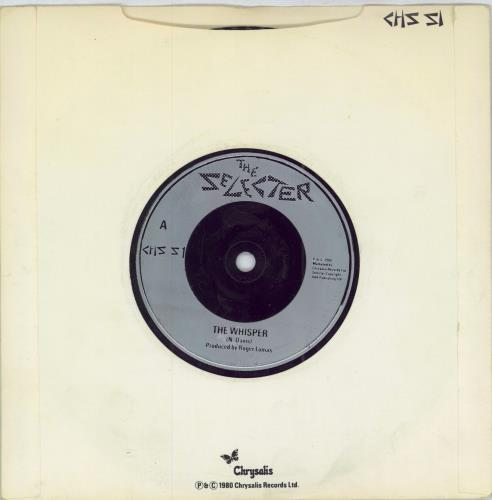 "The Selecter The Whisper 7"" vinyl single (7 inch record) UK SEL07TH572933"