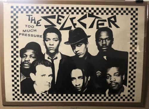 The Selecter Too Much Pressure poster UK SELPOTO723021