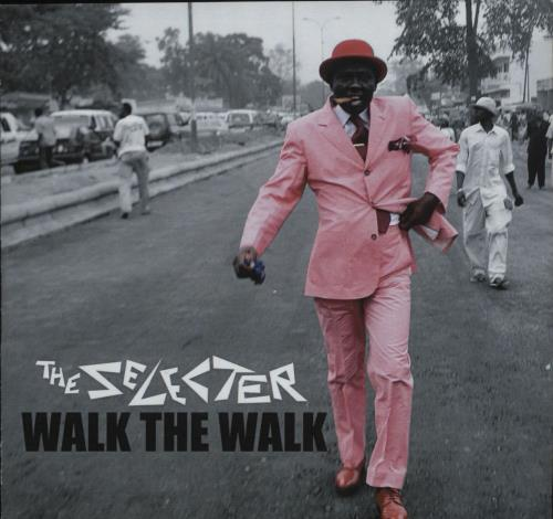 The Selecter Walk The Walk CD-R acetate UK SELCRWA678633