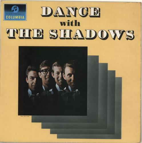 The Shadows Dance With The Shadows - One box vinyl LP album (LP record) UK SHDLPDA713765