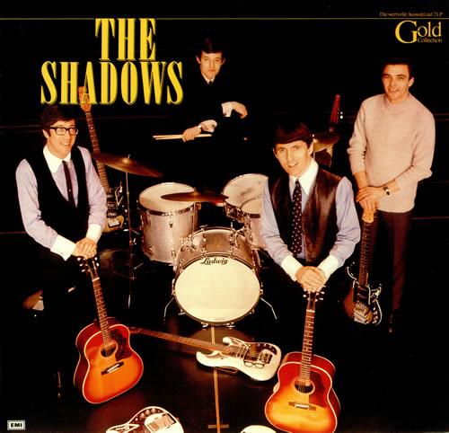 The Shadows Gold Collection German 2 Lp Vinyl Record Set