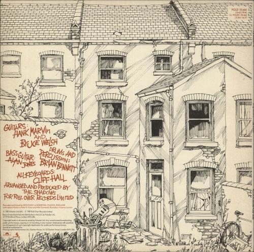 The Shadows Hits Right Up Your Street + merch insert vinyl LP album (LP record) UK SHDLPHI743952