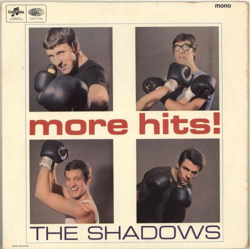 The Shadows More Hits! - 1st - EX vinyl LP album (LP record) UK SHDLPMO713822