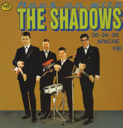 The Shadows Rock On With The Shadows Dutch Vinyl Lp Album