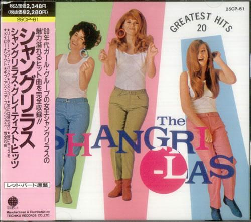 The Shangri Las Greatest Hits Japanese Cd Album Cdlp